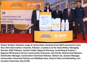 76107780256b BASF manufactures construction chemicals at its site based in Landhi