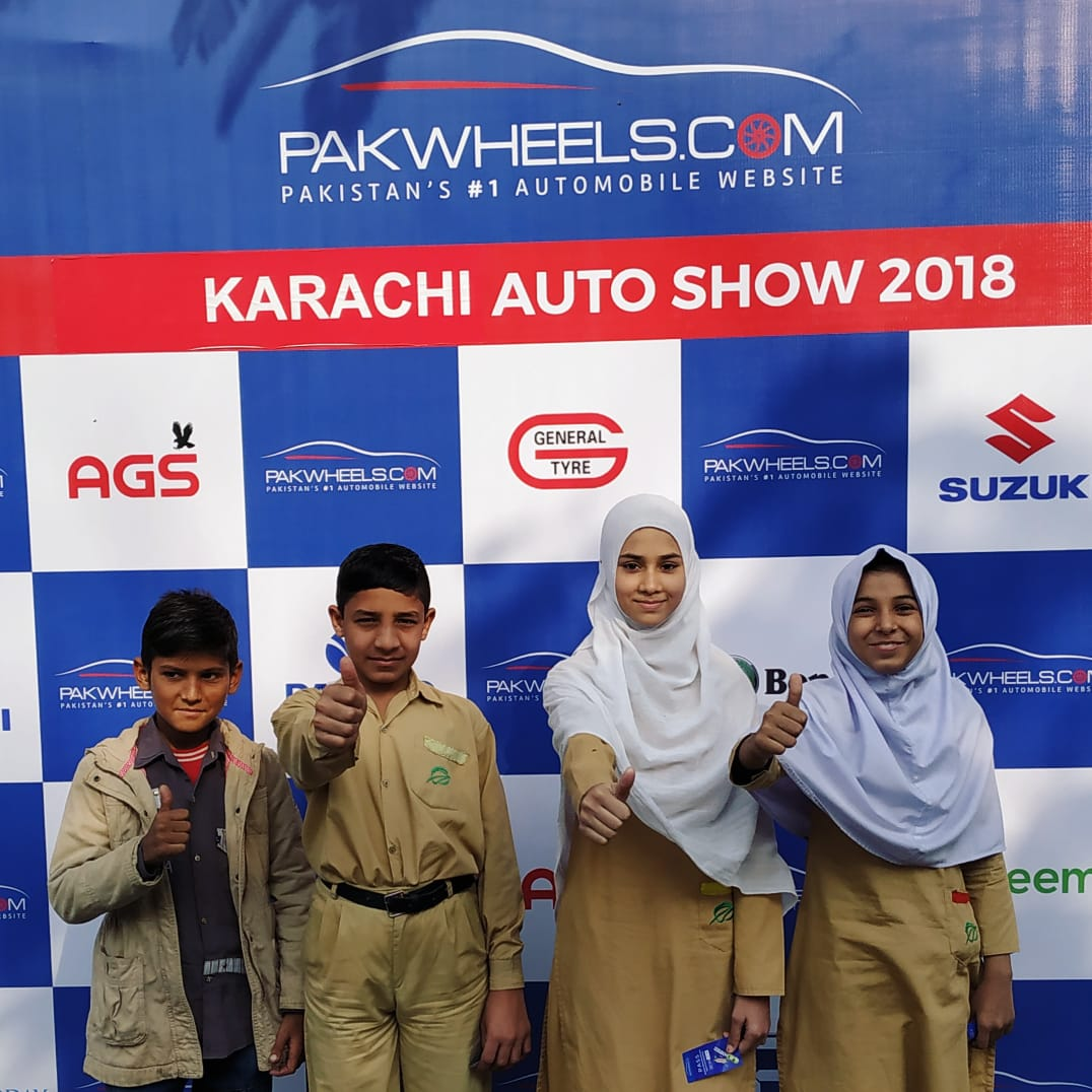 The Citizens Foundation Pakwheels Collaborate For The 6th Auto