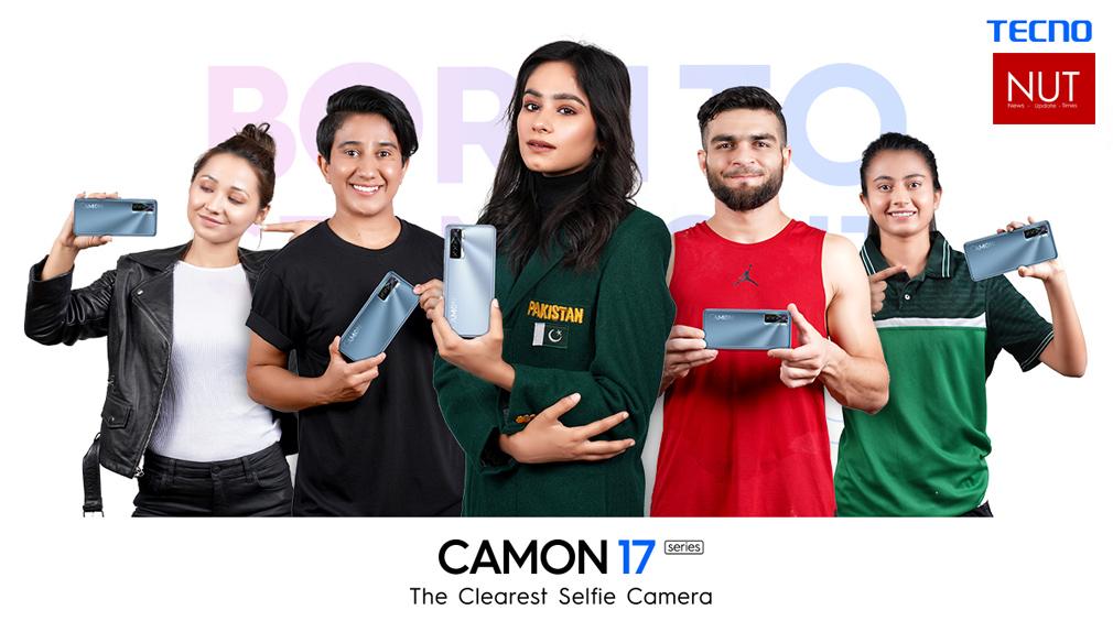 TECNO Camon 17 Pro highlights the inspiring talent of Pakistan