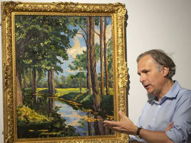 churchills 1921 painting sells for 1 85m house