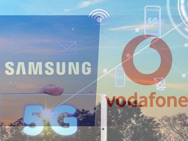 Samsung & Vodafone 5G network