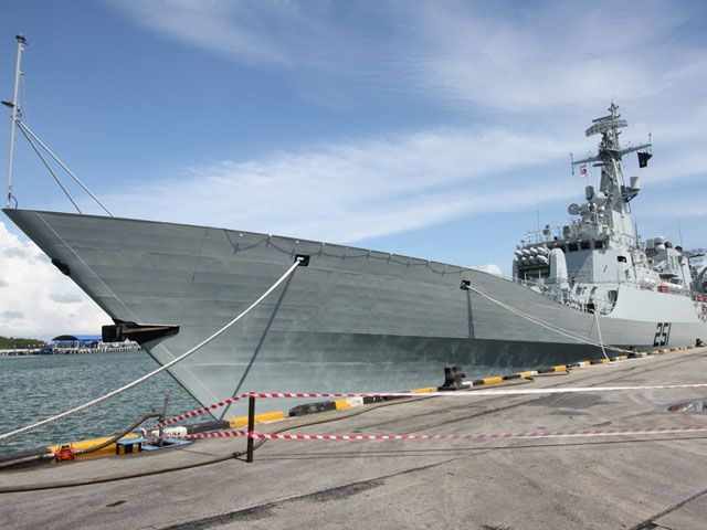 Pak ship ZULFIQUAR anchors