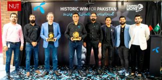 Telenor Pakistan wins five awards at Cannes