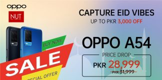Bigger Celebrations, Bigger Offers! OPPO F19 and A54 dropped down to new amazing prices for you to enjoy your Eid!
