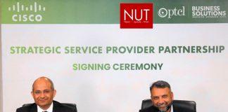 PTCL & CISCO sign service provider partnership agreement