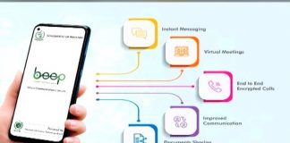 """Pakistan's official messaging app """"Beep Pakistan"""" ready to launch."""