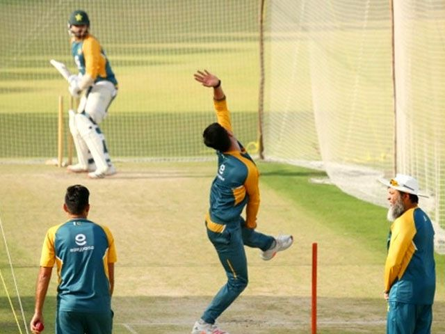 Test players' camp in Karachi from tomorrow