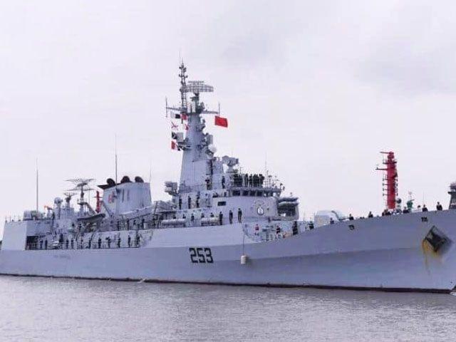 Pak Naval ship ZULFIQUAR visits UK for drills
